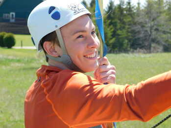 Team Leadership Center Zip Line Smiles